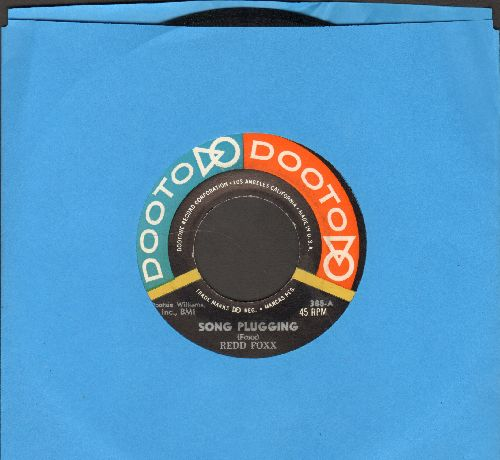 Foxx, Redd - Song Plugging/The New Soap - NM9/ - 45 rpm Records
