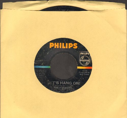 Four Seasons - Let's Hang On!/On Broadway Tonight  - EX8/ - 45 rpm Records