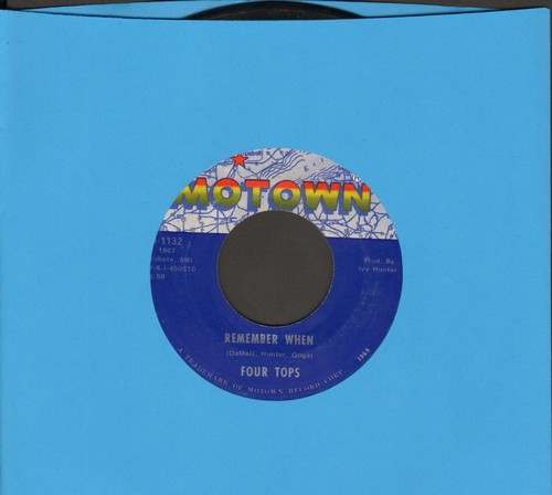 Four Tops - Remember When/I'm In A Different World  - EX8/ - 45 rpm Records