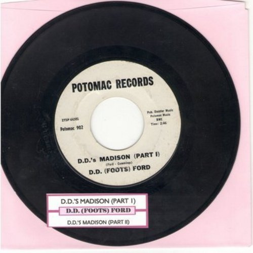 Ford, D. D. (Foots) - D.D.'s Madison (Parts 1 + 2) (with juke box label) - EX8/ - 45 rpm Records