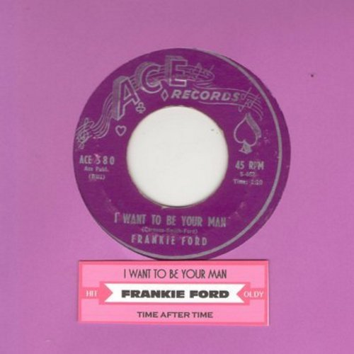 Ford, Frankie - I Want To Be Your Man/Time After Time (purple label) - VG7/ - 45 rpm Records