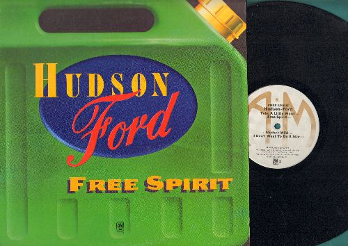 Hudson Ford - Free Sprit: Take A Little Word, Silent Star, Floating In The Wind (Vinyl STEREO LP record) - NM9/EX8 - LP Records