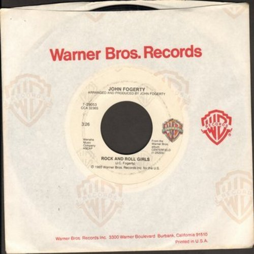 Fogerty, John - Rock And Roll Girls/Centerfield - EX8/ - 45 rpm Records