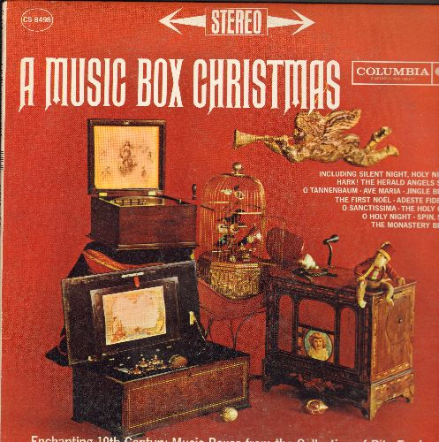 Ford, Rita - A Music Box Christmas - Enchanting 19th Century Music Boxes from the collection of Rita Ford (Vinyl STEREO LP record) - EX8/EX8 - LP Records