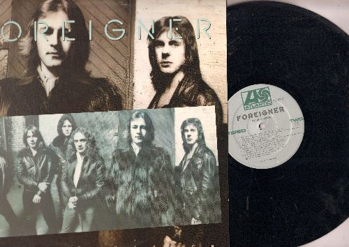 Foreigner - Double Vision: Blue Morning Blue Day, Hot Blooded, Spellbinder (Vinyl STEREO LP record) - EX8/EX8 - LP Records