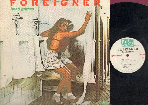Foreigner - Head Games: Dirty White Boy, Blinded By Scince, Do What You Like (vinyl STEREO LP record) - NM9/EX8 - LP Records