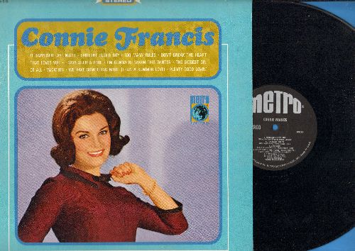 Francis, Connie - Connie Francis: Someone Else's Boy, Don't Break The Heart That Loves You, I'm Gonna Be Warm This Winter, Vacation (Vinyl STEREO LP record) - NM9/NM9 - LP Records