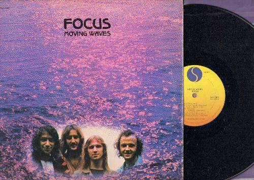 Focus - Moving Waves: Hocus Pocus, Moving Waves, Janis, Eruption (vinyl STEREO LP record) - EX8/EX8 - LP Records