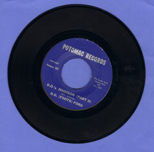Ford, D. D. (Foots) - D.D.'s Madison (Parts 1 + 2) (purple label, NICE condition!) - NM9/ - 45 rpm Records