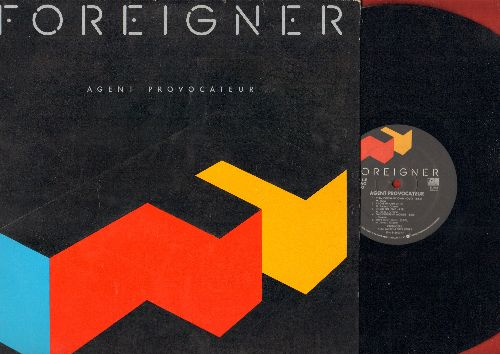 Foreigner - Agent Provocateur: I Want To Know What Love Is, Tooth And Nail, Reaction To Action, She's Too Tough (Vinyl STEREO LP record) - EX8/EX8 - LP Records