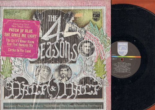 Four Seasons - Half & Half: Emily, And That Reminds Me, Patch Of Blue, Any Day Now--Oh Happy Day (Medley) (Vinyl STEREO LP record, gate-fold cover, shrink-wrap) - NM9/NM9 - LP Records