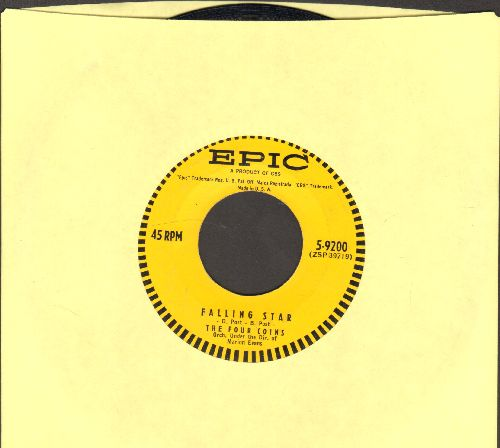 Four Coins - Falling Star/My Love Is A Kitten - EX8/ - 45 rpm Records