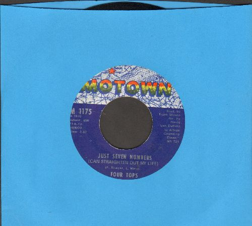 Four Tops - Just Seven Numbers (Can Straighten Out My Life)/I Wish I Were Your Mirror  - NM9/ - 45 rpm Records