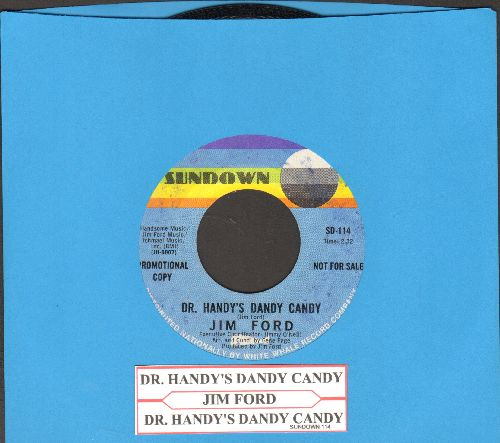 Ford, Jim - Dr. Handy's Dandy Candy (double-A-sided DJ advance pressing with juke box label) - EX8/ - 45 rpm Records