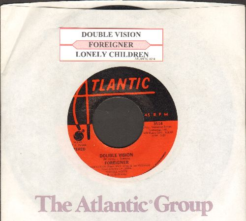 Foreigner - Counting Every Minute/Heart Turns To Stone (with Atlantic company sleeve and juke box label) - NM9/ - 45 rpm Records
