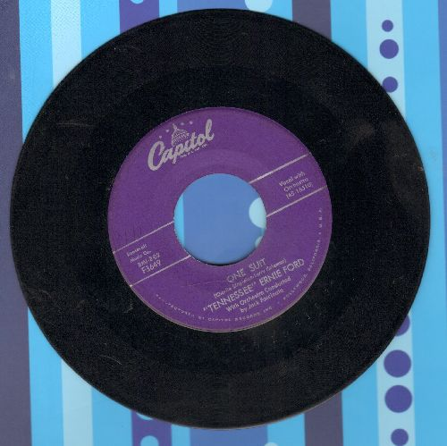 Ford, Tennessee Ernie - One Suit/The Watermelon Song - VG7/ - 45 rpm Records