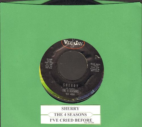 Four Seasons - Sherry/I've Cried Before (with juke box label) - VG7/ - 45 rpm Records