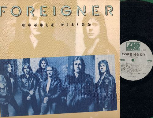 Foreigner - Double Vision: Blue Morning Blue Day, Hot Blooded, Spellbinder (Vinyl STEREO LP record) - VG7/VG7 - LP Records