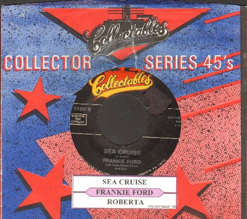 Ford, Frankie - Sea Cruise/Roberta (re-issue with juke box label and company sleeve) - EX8/ - 45 rpm Records
