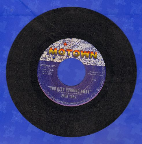 Four Tops - You Keep Running Away/If You Don't Want My Love (bb) - EX8/ - 45 rpm Records
