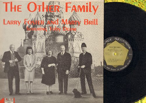 Foster, Larry & Marty Brill - The Other Family (Parody Album of Russian First Family ca. 1962) (NICE condition!) - NM9/EX8 - LP Records