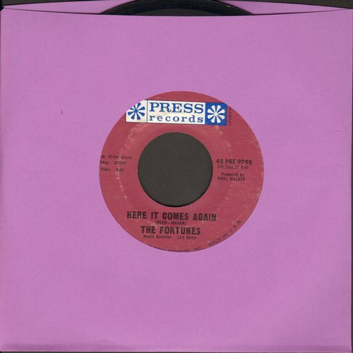 Fortunes - Here It Comes Again/Things I Should Have Known - EX8/ - 45 rpm Records
