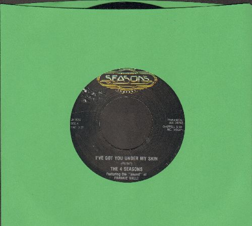 Four Seasons - I've Got You Under My Skin/Don't Think Twice (double-hit re-issue) - NM9/ - 45 rpm Records