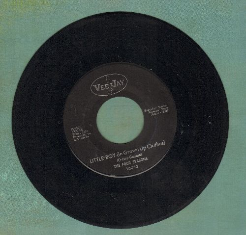 Four Seasons - Little Boy (In Grown Up Clothes)/Silver Wings  - NM9/ - 45 rpm Records