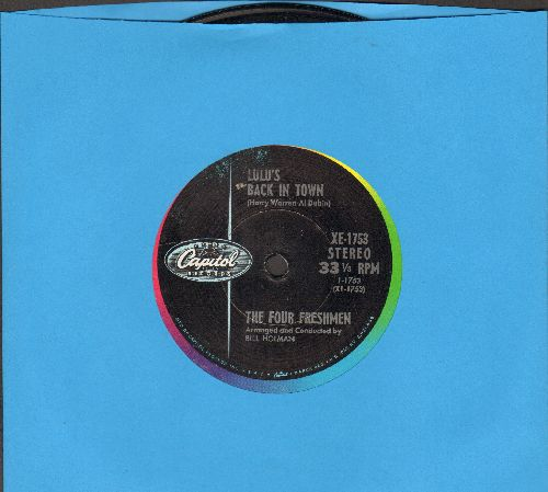 Four Freshmen - Lulu's Back In Town/Li'l Darlin' (7 inch 33rpm STEREO record with small spindle hole) - NM9/ - 45 rpm Records