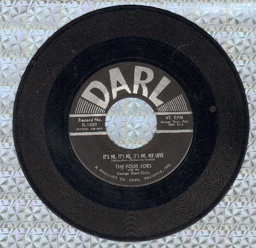 Four Joes - It's Me, It's Me, It's Me, My Love/Please Forget About Me - VG7/ - 45 rpm Records