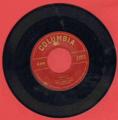 Four Lads - I Just Don't Know/Golly  - VG7/ - 45 rpm Records