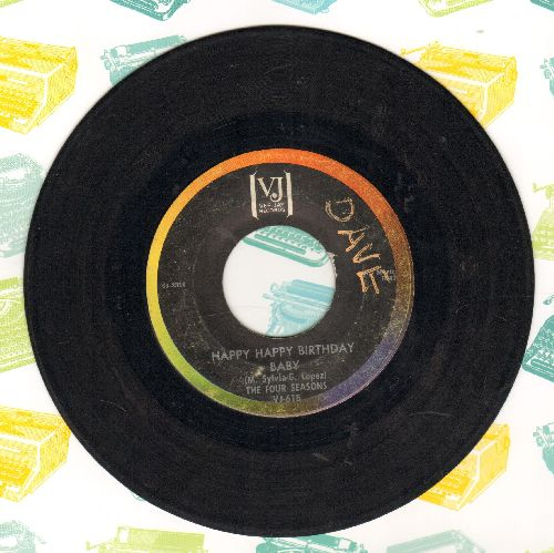 Four Seasons - Happy Happy Birthday/Apple Of My Eye (wol) - VG6/ - 45 rpm Records