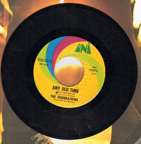 Foundations - Any Old Time/We Are Happy People (bb) - NM9/ - 45 rpm Records