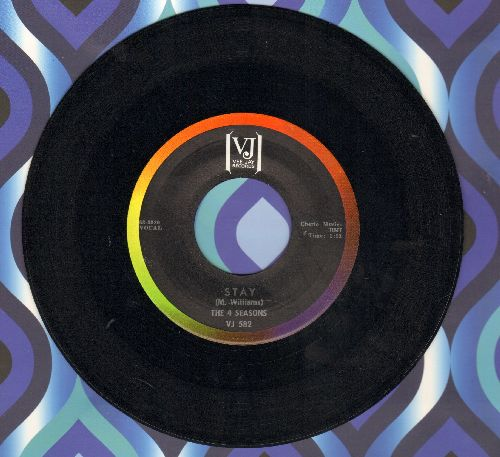 Four Seasons - Stay/Goodnight My Love (rainbow circle label) - EX8/ - 45 rpm Records