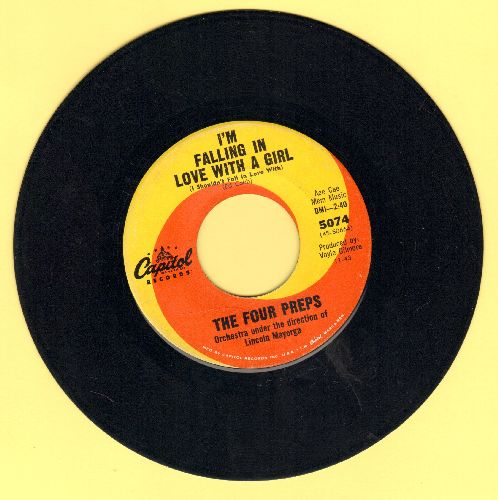 Four Preps - The Greatest Surfer Couple/I'm Falling In Love With A Girl (I Shouldn't Fall In Love With)(wol) - NM9/ - 45 rpm Records
