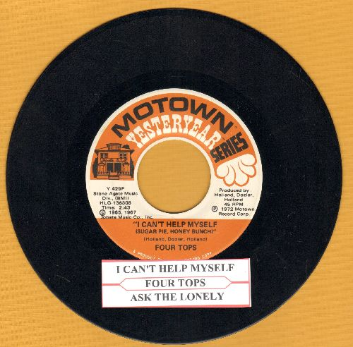 Four Tops - I Can't Help Myself/Ask The Lonely (double-hit re-issue with juke box label) - EX8/ - 45 rpm Records