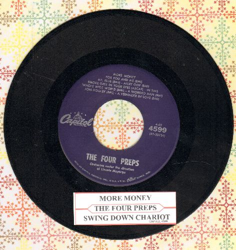 Four Preps - More Money For You And Me/Swing Down Chariot (with juke box label) - NM9/ - 45 rpm Records