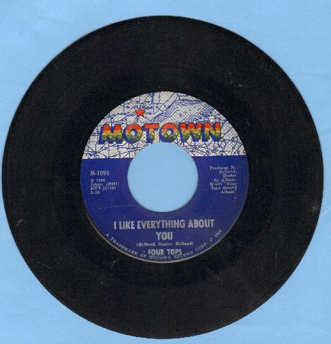Four Tops - I Like Everything About You/Loving You Is Sweeter Than Ever  - EX8/ - 45 rpm Records