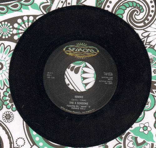 Four Seasons - Save It For Me/Ronnie (double-hit re-issue, MINT condition) - M10/ - 45 rpm Records
