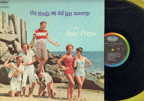 Four Preps - The Things We Did Last Summer: Memories Are Made Of This, Heart And Soul, Avalon (Vinyl MONO LP record) - EX8/EX8 - LP Records