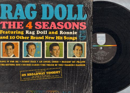 Four Seasons - Rag Doll: Ronnie, Save It For Me, On Broadway Tonight, Huggin' My Pillow, An Angel Cried (Vinyl MONO LP record, shrink wrap) - NM9/NM9 - LP Records