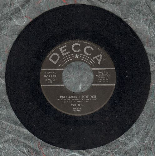 Four Aces - I Only Know I Love You/Dreamer - NM9/ - 45 rpm Records