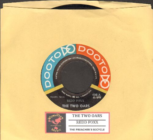 Foxx, Redd - The Two Oars/The Preachers Bicycle (with juke box label) - NM9/ - 45 rpm Records