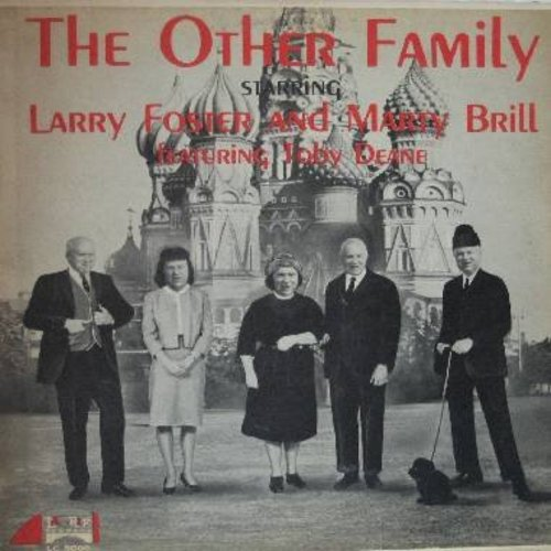 Foster, Larry & Marty Brill - The Other Family (Parody Album of Russian First Family ca. 1962) - VG7/VG7 - LP Records