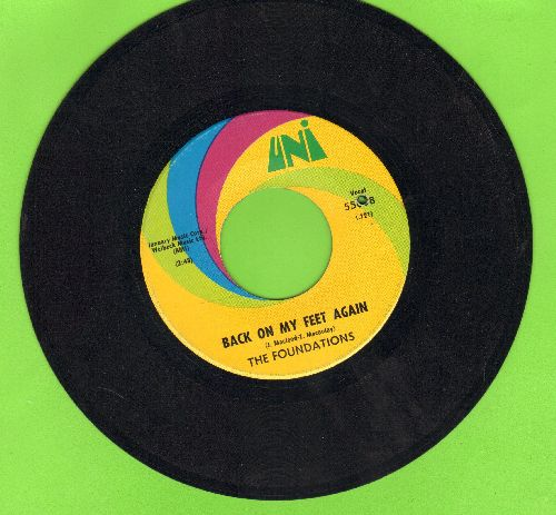 Foundations - Back On My Feet Again/I Can Take Or Leave Your Loving (bb) - EX8/ - 45 rpm Records