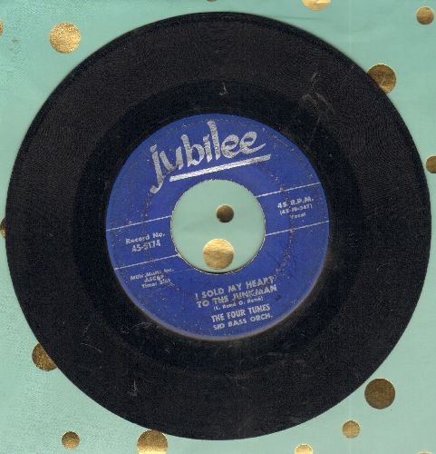 Four Tunes - I Sold My Heart To The Junkman/Good news - VG7/ - 45 rpm Records