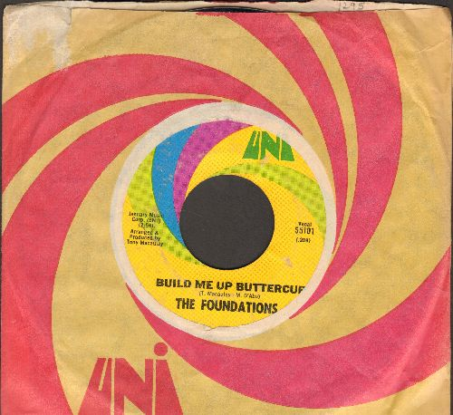 Foundations - Baby, Now That I've Found You/Come On Back To Me (with Uni company sleeve) - NM9/ - 45 rpm Records