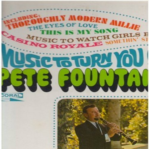 Fountain, Pete - Music To Turn You On: Music To Watch Girls By, Casino Royale, Somethin' Stupid, Tiger Rag (Vinyl STEREO LP record) - M10/NM9 - LP Records