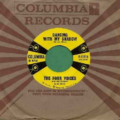 Four Voices - Bon Bon/Dancing With My Shadow (with Columbia company sleeve) - EX8/ - 45 rpm Records