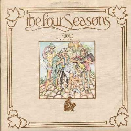 Four Seasons - The Four Seasons Story: Sherry, Big Girls Don't Cry, Walk Like A Man, Stay, Marlena, Candy Girl, Dawn, Workin'  My Way Back To You, Let's Hang On, Bye Bye Baby, Rag Doll, Silence Is Golden, Will You Love Me Tomorrow, Alone (2 vinyl LP recor